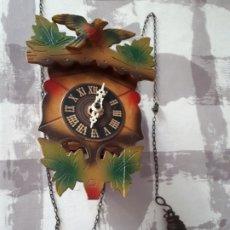 Relojes de pared: RELOJ TIPO CUCO MADE IN GERMANY PARA REPARAR. Lote 218456447