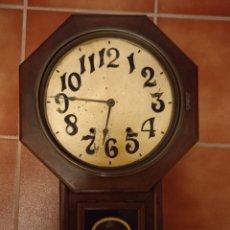 Relojes de pared: RELOJ ANTIGUO DE PAREZ. Lote 219026255