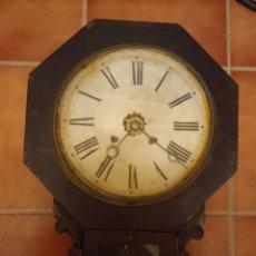 Relojes de pared: RELOJ ANTIGUO DE PAREZ. Lote 219026316