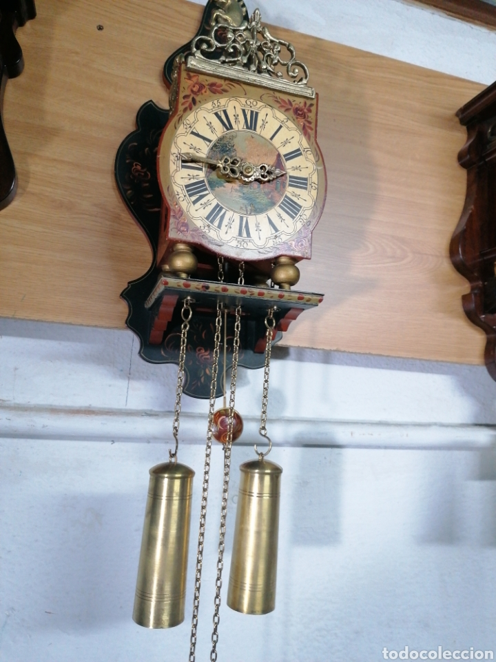 RELOJ HOLANDÉS MUY BIEN CONSERVADO (Relojes - Pared Carga Manual)