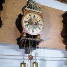 Relojes de pared: RELOJ HOLANDÉS MUY BIEN CONSERVADO. Lote 219482771
