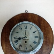 Relojes de pared: RELOJ DE BARCO,ANTIGUO. Lote 219652762