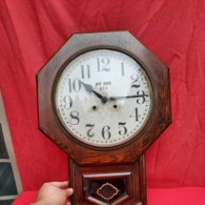 Relojes de pared: ANTIGUO RELOJ DEL SIGLO XIX NEW HAVEN U.S.A. Lote 219913641