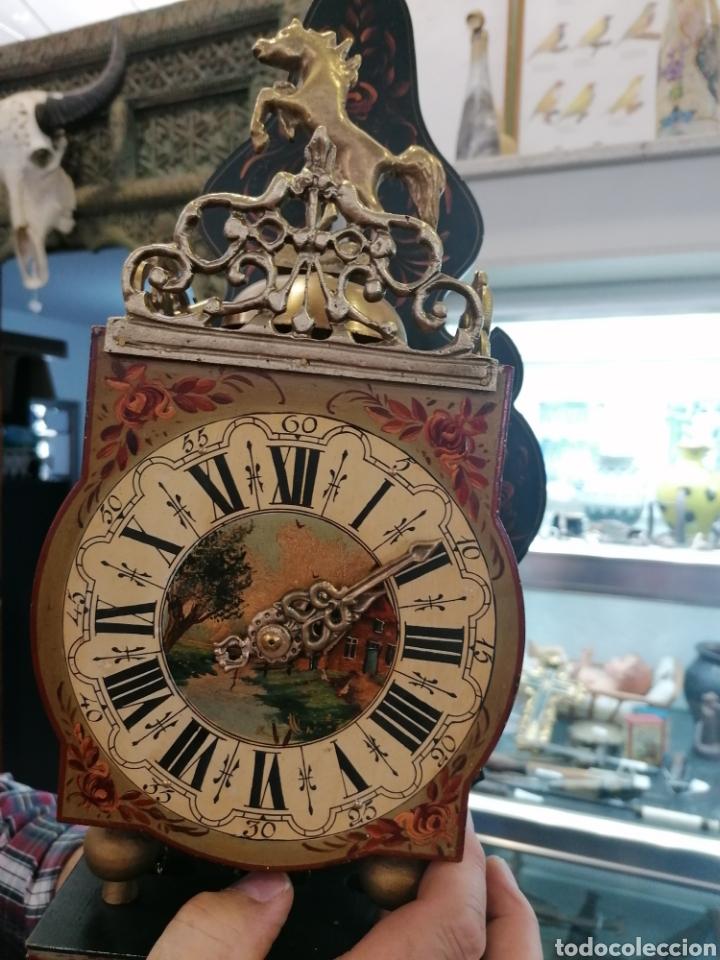Relojes de pared: Reloj holandés muy bien conservado - Foto 10 - 219482771