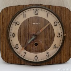 Relojes de pared: RELOJ A CUERDA BEROZ ANTIGUO DE PARED.. Lote 220987746