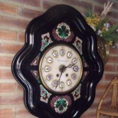 Relojes de pared: PRECIOSO OJO DE BUEY PARIS-ISABELINO- AÑO 1880-LOTE 313. Lote 221073590