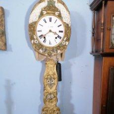 Relojes de pared: RELOJ PAVOS REAL PINTADO. Lote 221246750