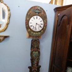 Relojes de pared: RELOJ DE PÉNDULO REAL DE COLORES. Lote 221247923