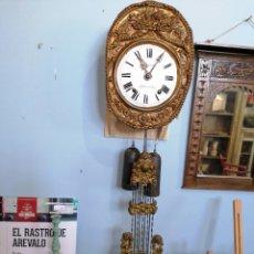 Relojes de pared: RELOJ DE PÉNDULO LIRA. Lote 221248521