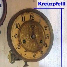 Relojes de pared: REGULADOR KREUZPFEILL, MÁQUINA RELOJ DE PARED PARA RECAMBIO.. Lote 221271212