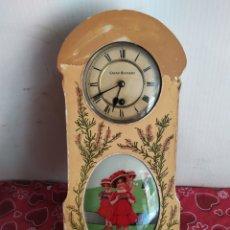 Relojes de pared: RELOJ ANTIGUO CACAO SUCHARD MUY RARO FUNCIONA. Lote 221507735