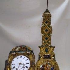 Relojes de pared: IMPRESIONANTE RELOJ MOREZ PENDULO REAL AUTÓMATA ERÓTICO MUY RARO. Lote 221713452