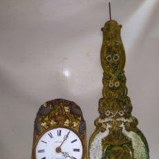 Relojes de pared: EXCELENTE RELOJ MOREZ PENDULO REAL PAVOS REALES. Lote 221719007