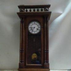 Relojes de pared: ESPECTACULAR RELOJ DE PARED HENRY CIRCA 1830. Lote 221721076