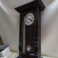 Relojes de pared: RELOJ ANTIGUO ALFONSINO SIGLO XIX. Lote 221721258