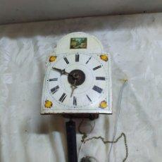 Relojes de pared: RARÍSIMO RATERA MINIATURA DE CAMPANA SIGLO XVIII. Lote 221721688