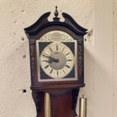 Horloges murales: ANTIGUO RELOJ DE PARED TEMPUS FUGIT!. Lote 221830877