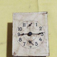 Relojes de pared: ANTIGUA MAQUINARIA DE RELOJ A IDENTIFICAR. Lote 221969446