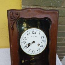 Relojes de pared: ANTIGUO RELOJ AUTÓMATA DA LAS CAMPANADAS. Lote 222171460
