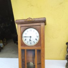 Relógios de parede: ANTIGUO RELOJ DE 3 CUERDAS 8 MARTILLOS VEDETE. Lote 222172630