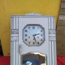 Relojes de pared: ANTIGUO RELOJ CARRILLÓN SONERIA A CUARTOS. Lote 222176690