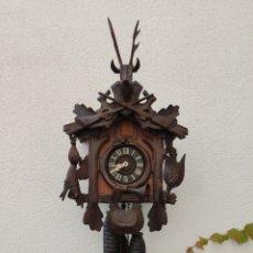 Relojes de pared: RELOJ CUCO DE LA SELVA NEGRA. AÑOS 50. 40X30 CMS. FUNCIONA.. Lote 222196136