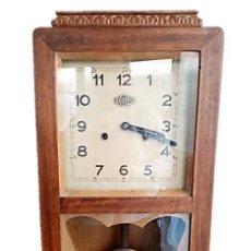 Relojes de pared: RELOJ PARED MANUFACTURAS ROMAN ESPAÑA P.S.XX. Lote 222247297