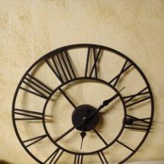 Relojes de pared: RELOJ DE PARED NUEVO DE 40CM DE DIAMETRO. Lote 222384815