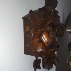 Relojes de pared: RELOJ ANTIGUO DE PARED SELVA NEGRA. Lote 222409847