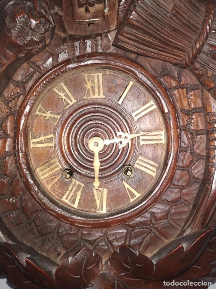 Relojes de pared: Reloj antiguo de pared selva negra - Foto 2 - 222409847