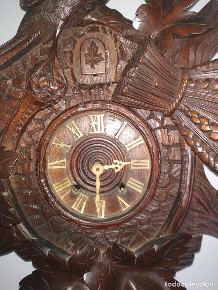 Relojes de pared: Reloj antiguo de pared selva negra - Foto 6 - 222409847