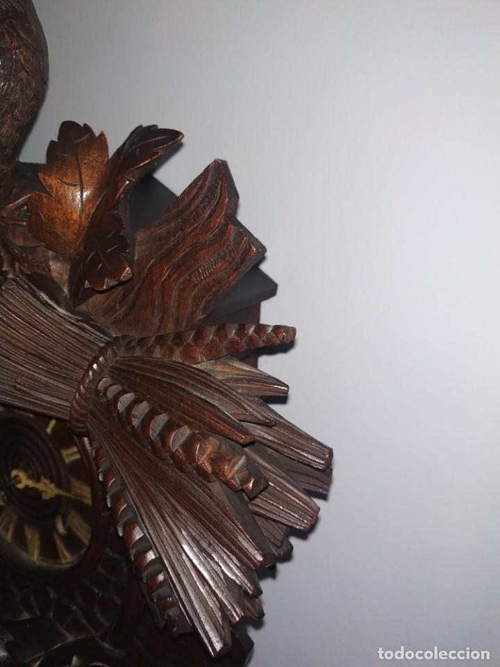 Relojes de pared: Reloj antiguo de pared selva negra - Foto 7 - 222409847
