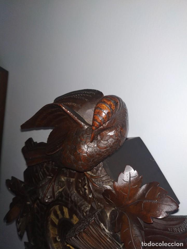 Relojes de pared: Reloj antiguo de pared selva negra - Foto 9 - 222409847