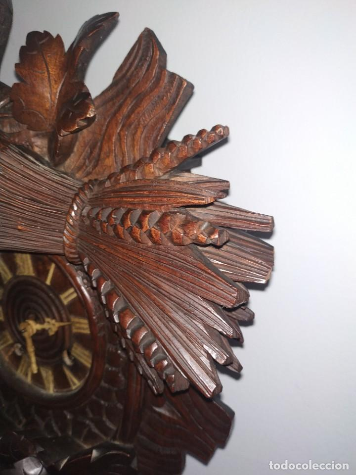Relojes de pared: Reloj antiguo de pared selva negra - Foto 10 - 222409847
