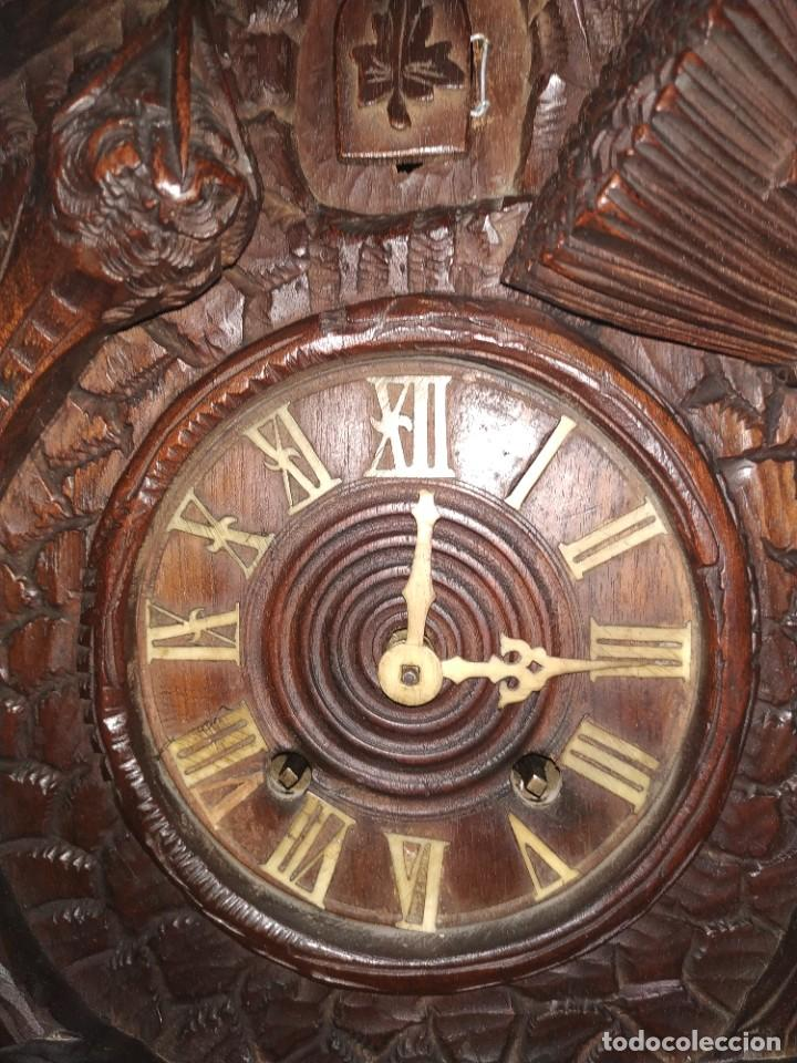 Relojes de pared: Reloj antiguo de pared selva negra - Foto 12 - 222409847