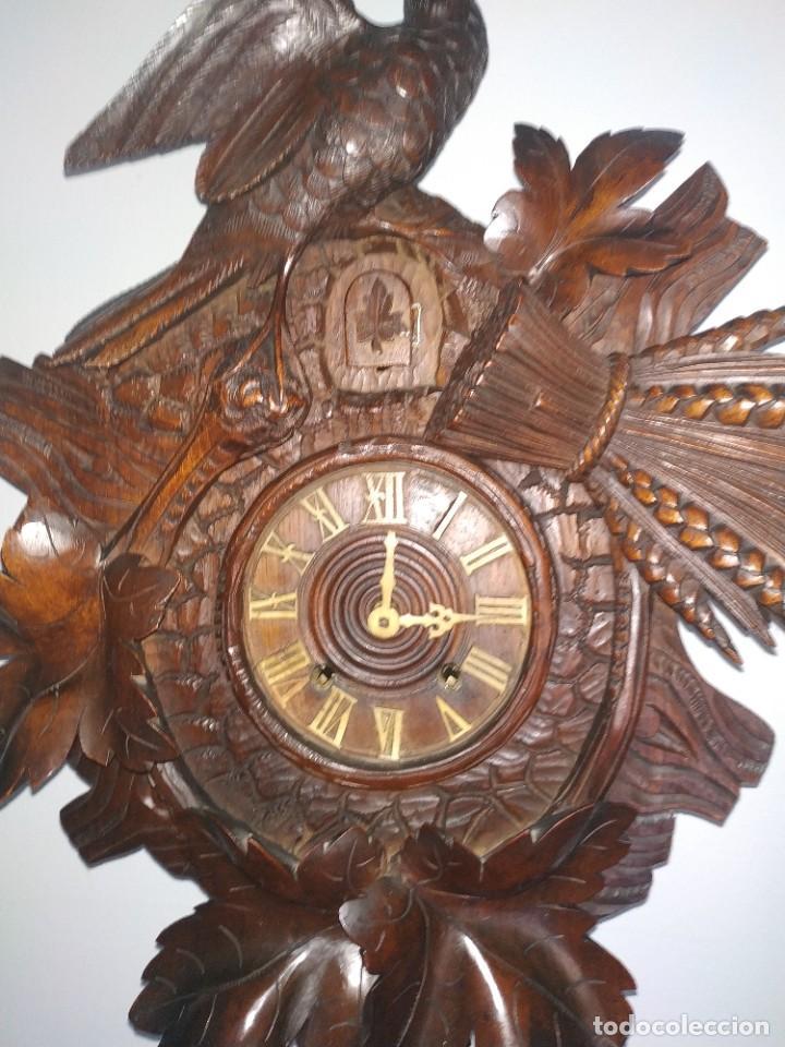 Relojes de pared: Reloj antiguo de pared selva negra - Foto 13 - 222409847