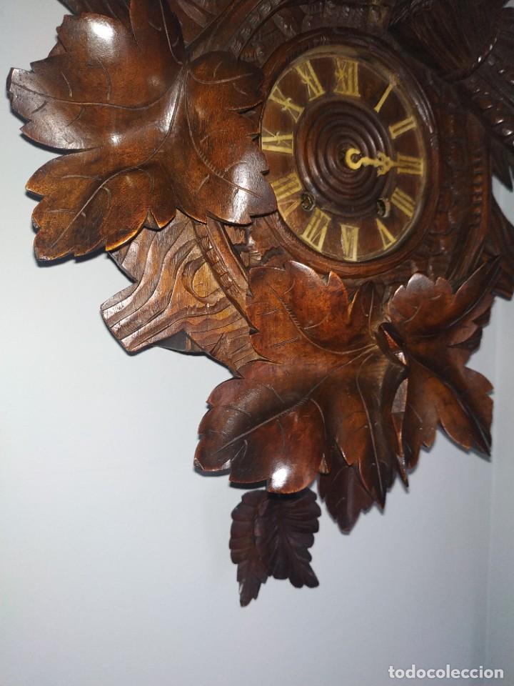 Relojes de pared: Reloj antiguo de pared selva negra - Foto 14 - 222409847