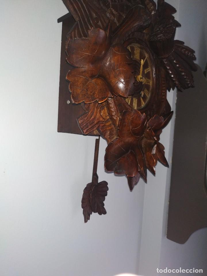 Relojes de pared: Reloj antiguo de pared selva negra - Foto 18 - 222409847