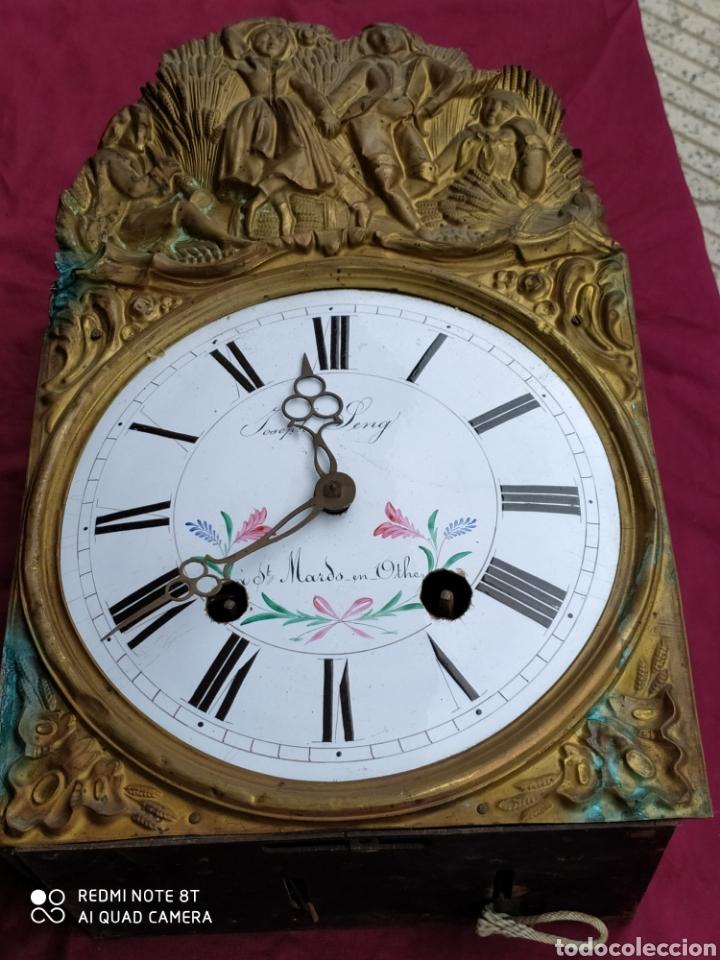 PRECIOSO MOREZ ANTIGUO (Relojes - Pared Carga Manual)