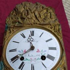 Relojes de pared: PRECIOSO MOREZ ANTIGUO. Lote 222443892