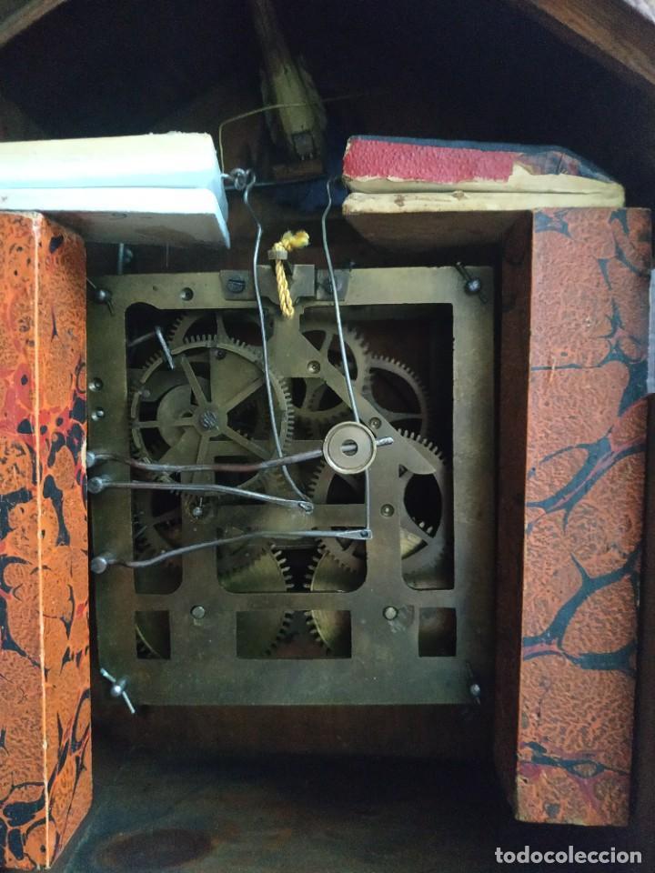 Relojes de pared: Reloj antiguo de pared selva negra - Foto 22 - 222409847