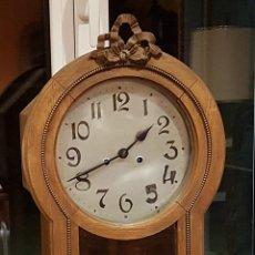 Relojes de pared: RELOJ DE PARED ANTIGUO. Lote 222463106