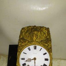 Relojes de pared: ANTIGUA CABEZA DE RELOJ MOREZ SIGLOXIX. Lote 222837980