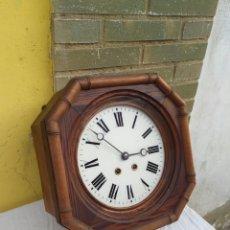 Relojes de pared: IMPRESIONANTE RELOJ DE BARCO CON SONERIA CIRCA 1800. Lote 222901450