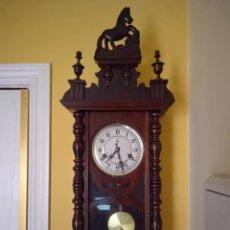 Relógios de parede: RELOJ DE PARED A CUERDA POLARIS. Lote 223448403