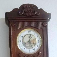 Relojes de pared: RELOJ PARED DE CUERDA IMPERATOR EN MUY BUEN ESTADO,FUNCIONA PERFECTAMENTE. Lote 223687385