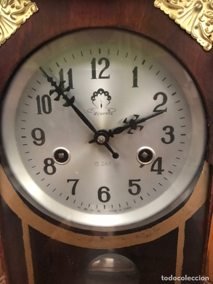 Relojes de pared: RELOJ DE PAREJ CHINO - Foto 2 - 223954837
