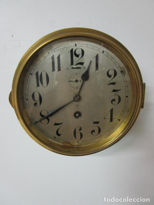 Relojes de pared: Antiguo Reloj de Barco - Marca Junghans - Reloj Pared - Funciona - Años 20-30 - Foto 3 - 225308272