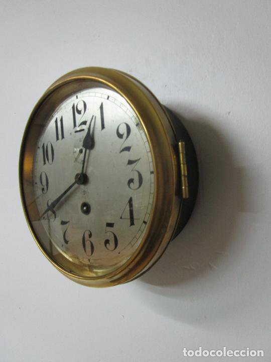 Relojes de pared: Antiguo Reloj de Barco - Marca Junghans - Reloj Pared - Funciona - Años 20-30 - Foto 4 - 225308272