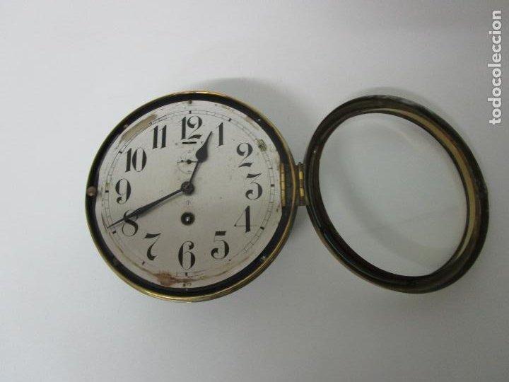 Relojes de pared: Antiguo Reloj de Barco - Marca Junghans - Reloj Pared - Funciona - Años 20-30 - Foto 7 - 225308272